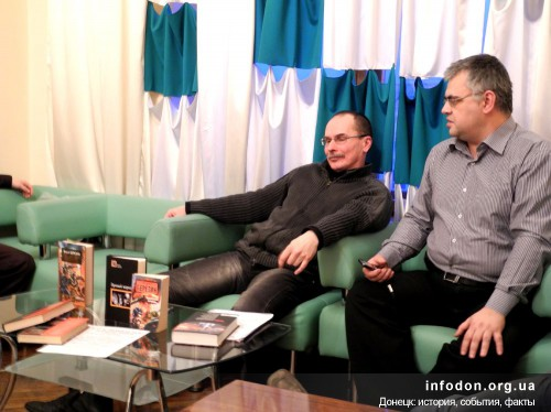 Ответы на вопросы, Донецк, 2013