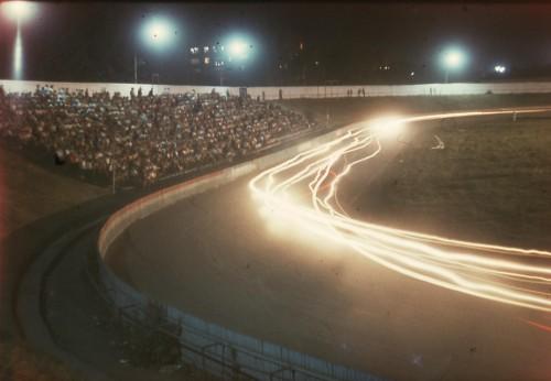 4. Мотодром. Ночные кольцевые мотогонки. 1984 год