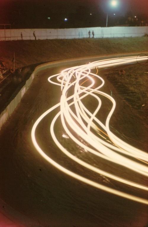 5. Мотодром. Ночныей кольцевые мотогонки. 1984 год