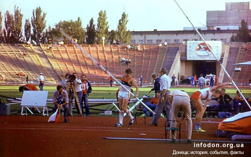 Спортсмены готовятся к прыжкам