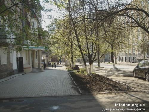 Пересечение ул. Розы Люксембург и пр. Гурова. Донецк, 2001 год