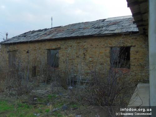 Старая постройка шахты Италия_1